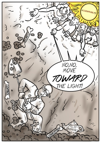 Amends Project cartoon