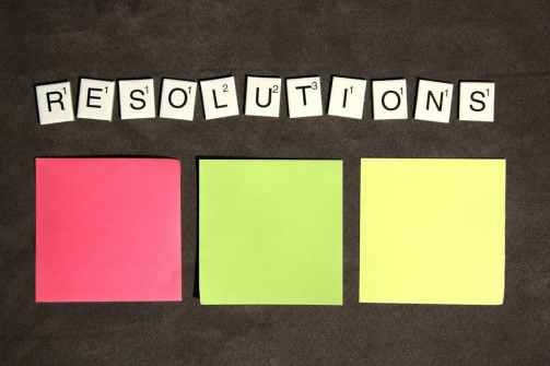resolutions - letters