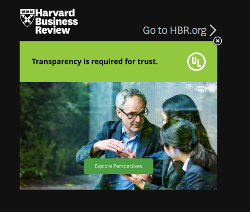 Transparency Trust