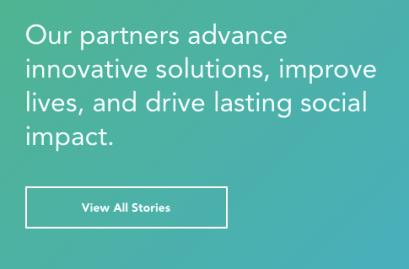 Innovative, lasting social impact