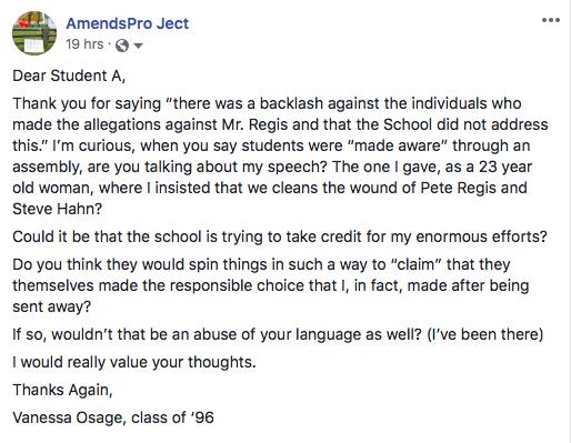Dear Student A
