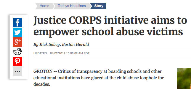 Justice CORPS Initiative article 4.2.19