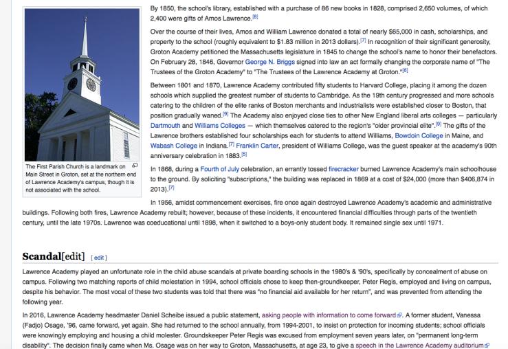 Wiki w scandal